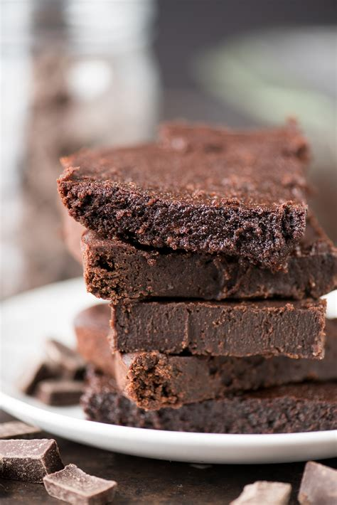Healthier Fudgy Brownies   The First Year