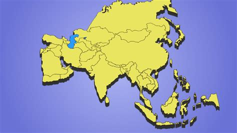 Guess the Country Quiz, Asia