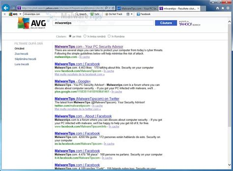 """Remove """"AVG Secure Search"""" redirect (Virus Removal Guide)"""