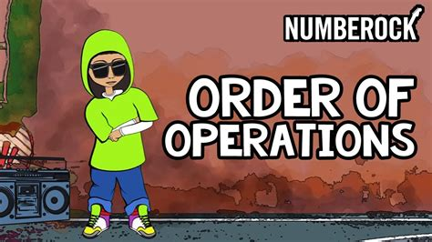 Order of Operations Song   PEMDAS Rap for 5th Grade and Up