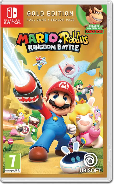 Mario + Rabbids: Kingdom Battle - Gold Edition [Nintendo