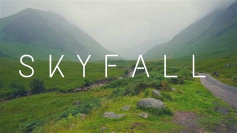 How To Find The James Bond Skyfall Location In Scotland!