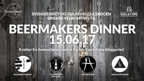 Beermakers Dinner - Drammen