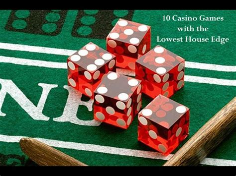 10 Casino Games with the Lowest House Edge | Gambling